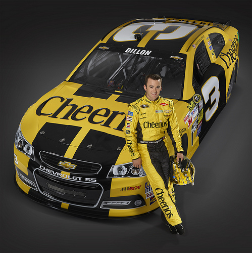 Austin Dillon, driver of the No. 3 Cheerios Chevrolet SS